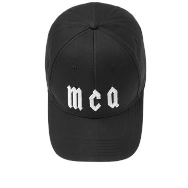 4f403013caf McQ by Alexander McQueen Baseball Cap Black   White