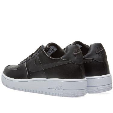 Nike Air Force 1 Ultra Force Leather Black   White  b94bb8429ffc