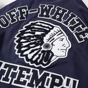 5a825e43ea4a homeOff-White Patch Varsity jacket. image. image. image. image. image.  image. image. image
