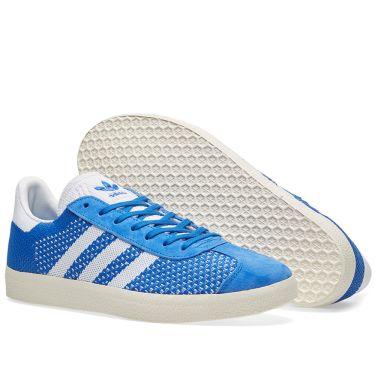 the best attitude 8e005 1e411 Adidas Gazelle PK. Blue  Chalk White