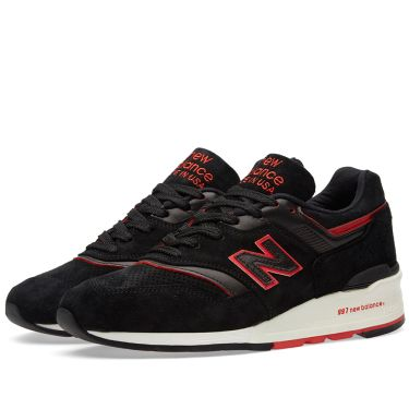 New Balance M997DEXP  Explore by Air  - Made in the USA Black   Red ... dc1f1aee0863