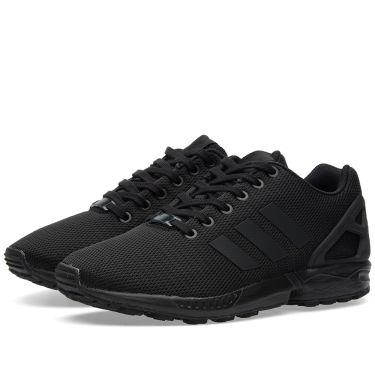 Adidas ZX Flux Core Black   Dark Grey  f44cb1e3aafe