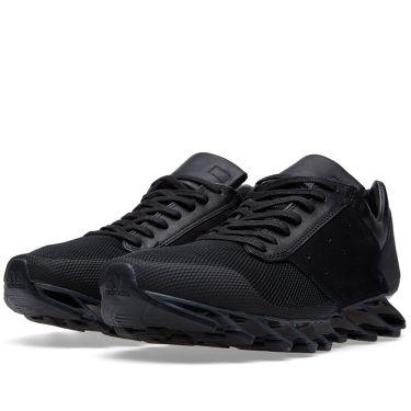 d810e2de5124 Adidas x Rick Owens Springblade Low Black   Black