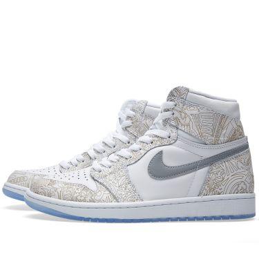 2b6330c582ca Nike Air Jordan 1 RE Laser White   Metallic Silver