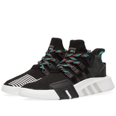 0f41d9f25018 Adidas EQT Bask ADV Black   Green