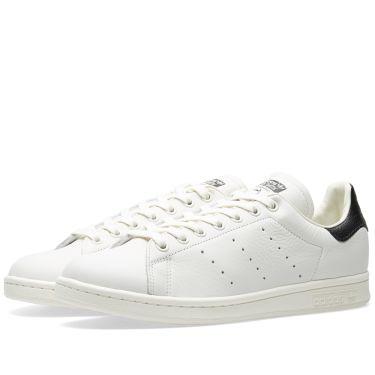 Adidas Stan Smith Premium Chalk White   Core Black  bdc11792a