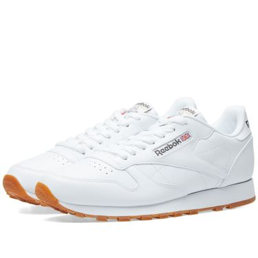 Reebok Classic Leather White   Gum  656acba46