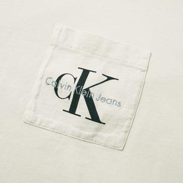 homeCalvin Klein Jeans Logo Pocket Tee. image. image b8e7f6786bd5