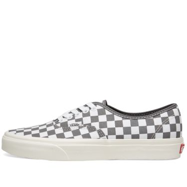 Vans Authentic Checkerboard Pewter   Marshmallow  ccdd7e42c