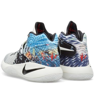 low priced c7334 101fd Nike Kyrie 2  Effect  Multi Colour, Black   Sail   END.