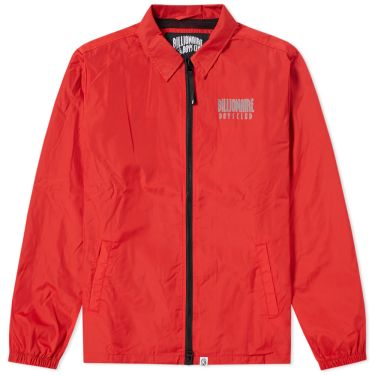 269a7f041b53 Billionaire Boys Club Zip Coach Jacket Red