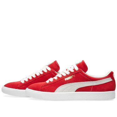 Puma Suede 90681 OG Pack Ribbon Red   Puma White  6c2a010fb