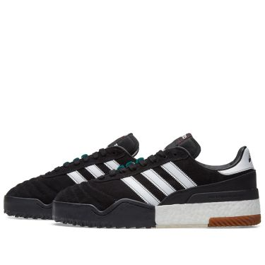 Adidas Originals by Alexander Wang BBall Soccer Black   White  104fb78e7218