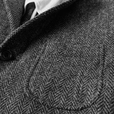 55c126ab0b664 homeBeams Plus 3 Button Harris Tweed Blazer. image. image. image. image.  image. image
