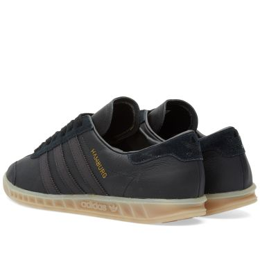 66c2a7331d28 Adidas Hamburg Core Black   Gum