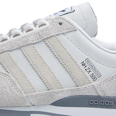 0736ee941a1c9c Adidas x Neighborhood ZX 500 OG Neo White   Grey