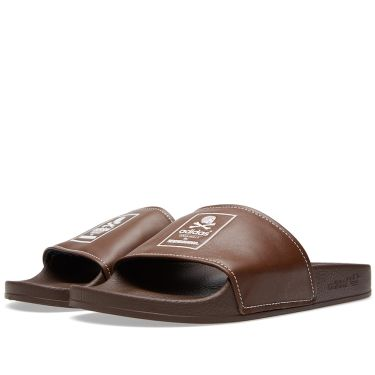 Adidas x Neighborhood Adilette Brown   Off White  2cb6fd0d2