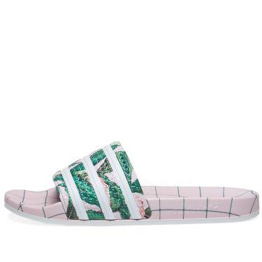 07ac42ccfd85a5 Adidas Adilette W White   Wonderful Pink