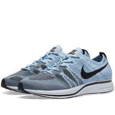 c942c0860604 Nike Flyknit Trainer Cirrus Blue   Black