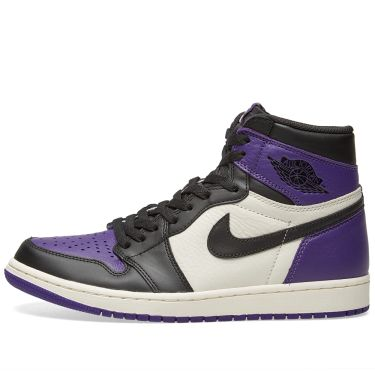 Nike Air Jordan 1 Retro High OG Court Purple   White  8d63df395