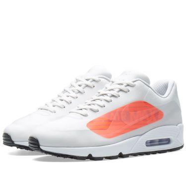 dd44ae161a58f4 Nike Air Max 90 NS GPX Neutral Grey   Bright Crimson