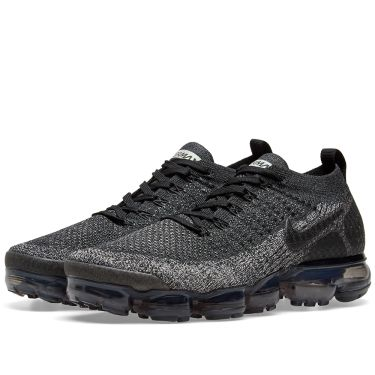 2f0caa491652 Nike Air VaporMax Flyknit 2 Black   Dark Grey