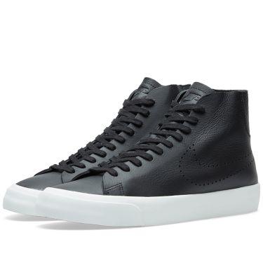 Nike Blazer Studio Mid Black   Summit White  be1dc1e5e