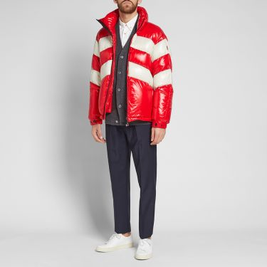 0b364b30e00a Moncler Grenoble Golzern Down Jacket Red   Off White