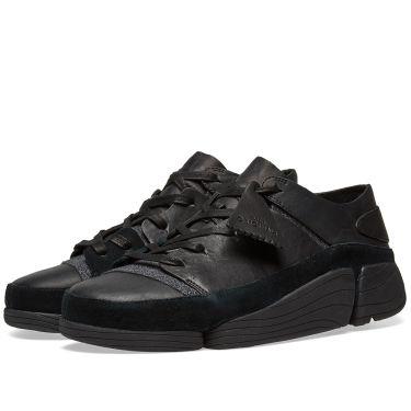 17e9bd6f60dabd Clarks Originals Trigenic Evo Black Leather