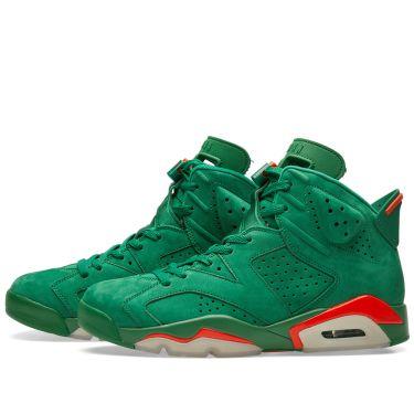 029199c617c Nike Air Jordan 6 Retro Energy  Gatorade  Pine Green   Orange Blaze ...