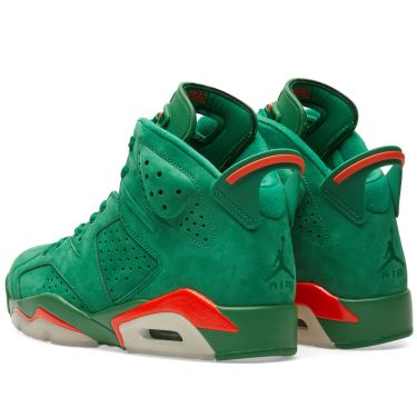 Nike Air Jordan 6 Retro Energy  Gatorade  Pine Green   Orange Blaze ... 2e7ef0fd2