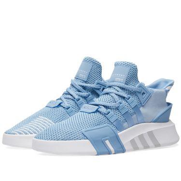 03856037203e27 Adidas EQT Bask ADV W Ash Blue   White