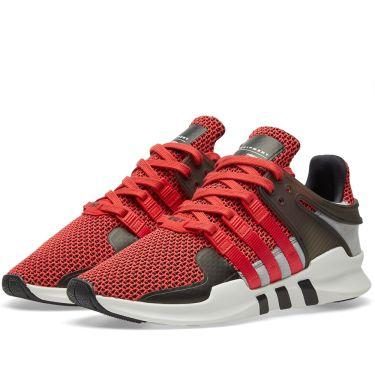 Adidas EQT Support ADV Collegiate Red   Black  d9948a7a0d85