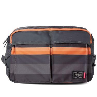 14068fec04 Porter-Yoshida   Co. x Paul Smith Two Way Waist Bag Black   Orange ...
