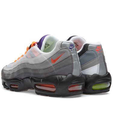 size 40 bfe89 ad35b Nike Air Max 95 OG QS Greedy Black, Volt  Safety Orange  END