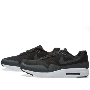 newest 2e8da 8825b Nike Air Max 1 Ultra Essential Black, Anthracite & White   END.
