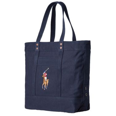 c6b28432a5 Polo Ralph Lauren Embroidered Tote Bag Navy