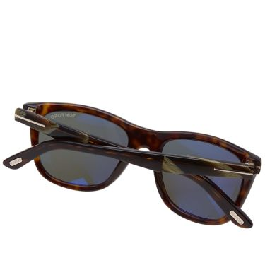 48cbabfbb43 Tom Ford FT0500 Andrew Sunglasses Dark Havana   Green