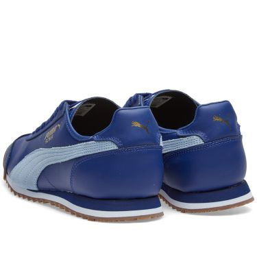 6eb12240af84ce Puma Roma OG 80s Twilight Blue   Blue Fog