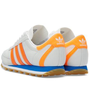 2e3c300585a92c Adidas Nite Jogger OG Vintage White   Solar Orange