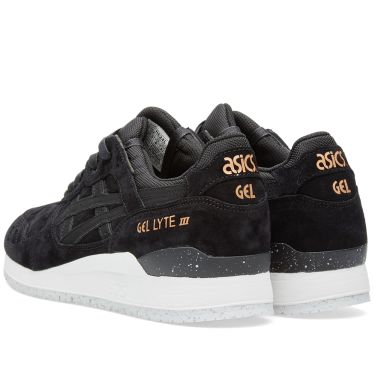Asics Gel Lyte III  Rose Gold  Black  298fc57d1