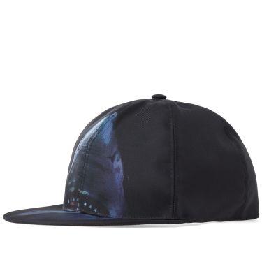 Givenchy Shark Print Cap Black   Multi  8831592e79c