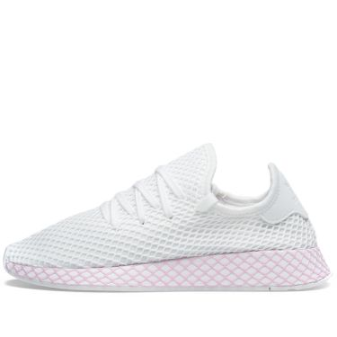 differently 00fbb a07d1 Adidas Deerupt W. White  Clear Lilac