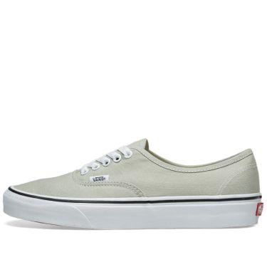 ff407697e1 Vans Authentic Desert Sage   True White