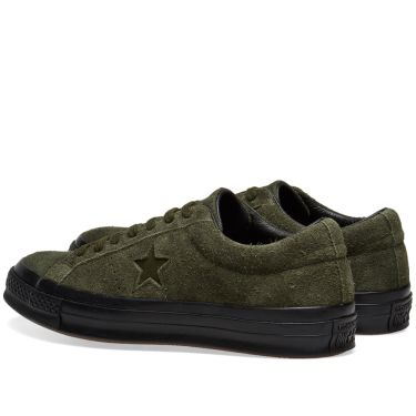 16402eb50f0f Converse One Star Ox Utility Green   Black