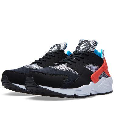 1fba225b7580 Nike Air Huarache Run FB QS Black   White
