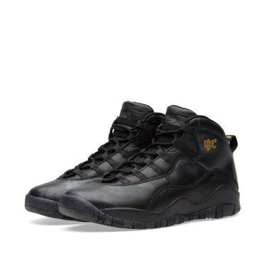 9af905303d39 Nike Air Jordan 10 Retro BG Black