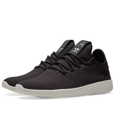 0112cb306bf2 Adidas x Pharrell Williams Tennis HU Core Black   Chalk White