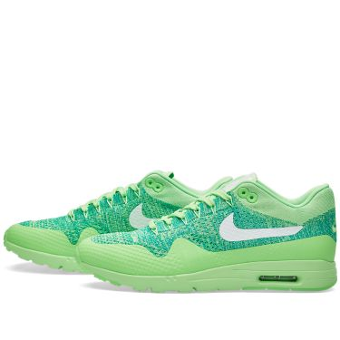 d5270f893708 Nike W Air Max 1 Ultra Flyknit Voltage Green   White