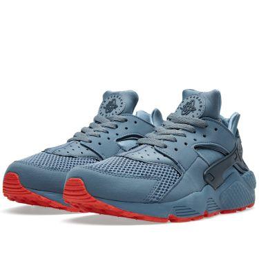 0583e3c25cef Nike Air Huarache Run FB Blue Graphite   Bright Crimson